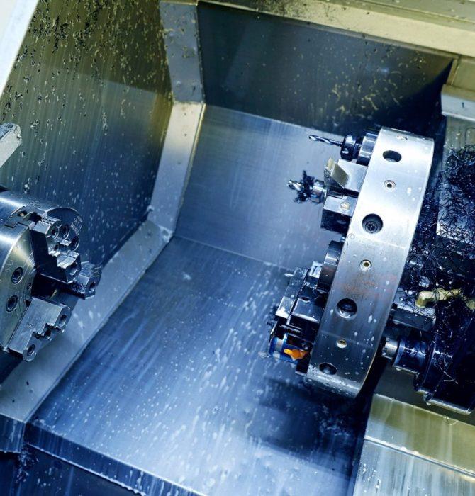 CNC-svarvning av stål